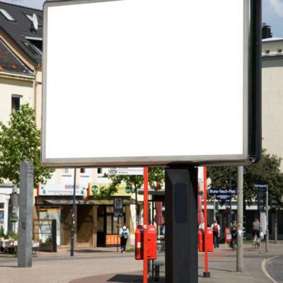 Werbeanlagen Werbeflaeche Installieren City Light Elektrik Elektrotechnik Ottow Elektro Thomas Kiel